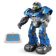 JJR/C RC Robot R5 CADY WILI Intelligent Robot Remote Control Programmable Auto Follow Gesture Sensor Music Dance Toy Kids Gift(China)