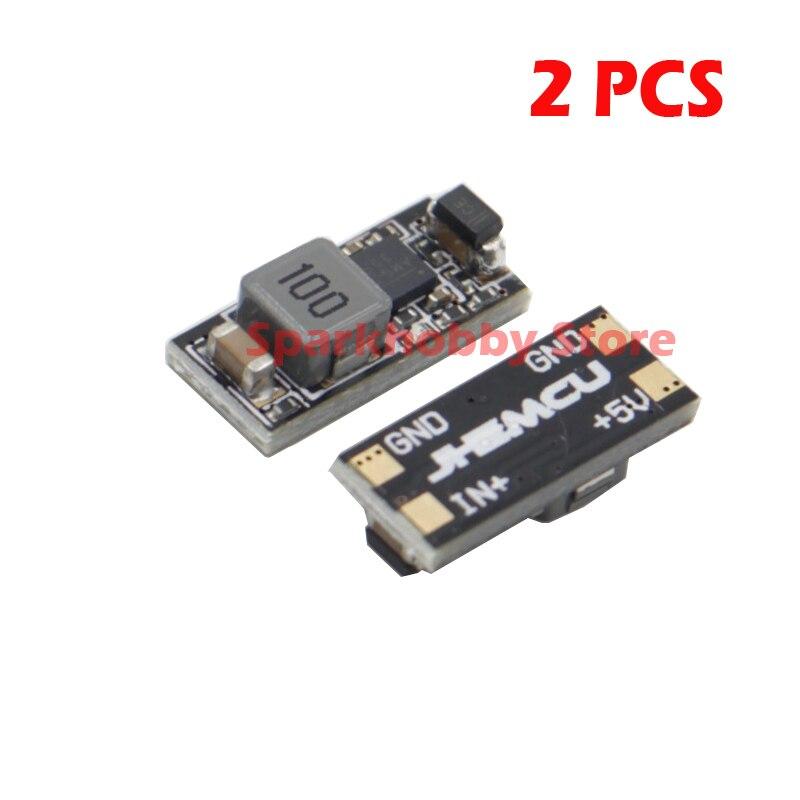 2 piezas FPV MICRO BEC MINI BEC Micro DE 5-30 V 5 V 2.5A DC-DC 5 V 3A /12 V 2A BEC UBEC Mini BEC 2-6 S para RC Quadcopter Drone