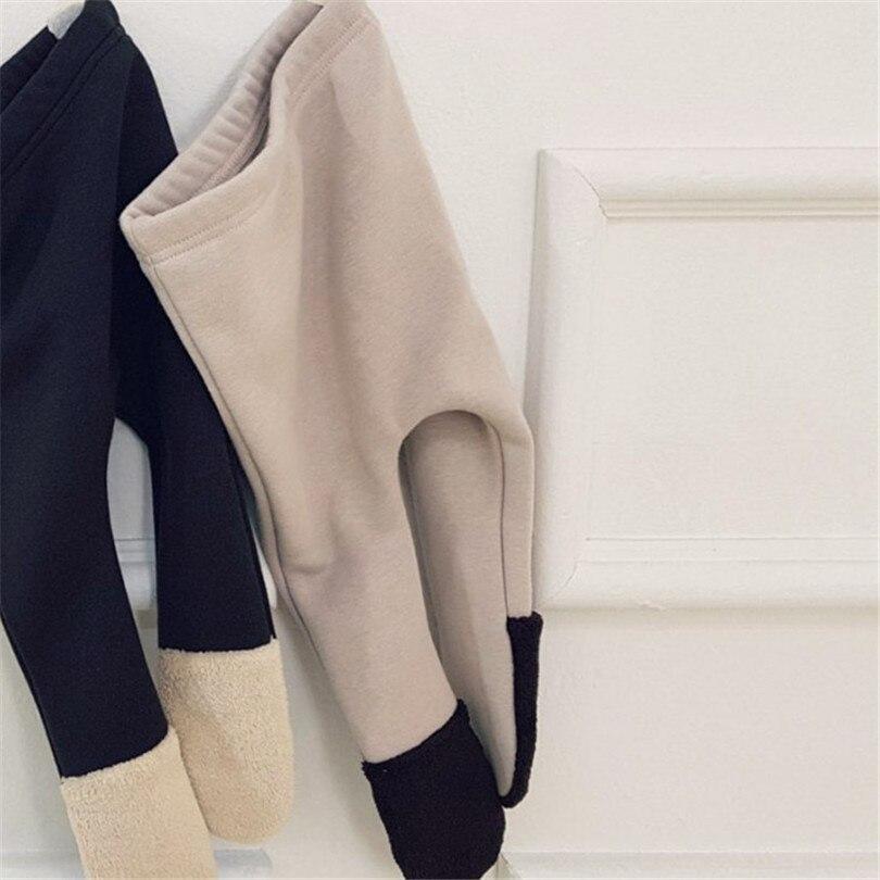 velo quente calças infantis legging do bebê