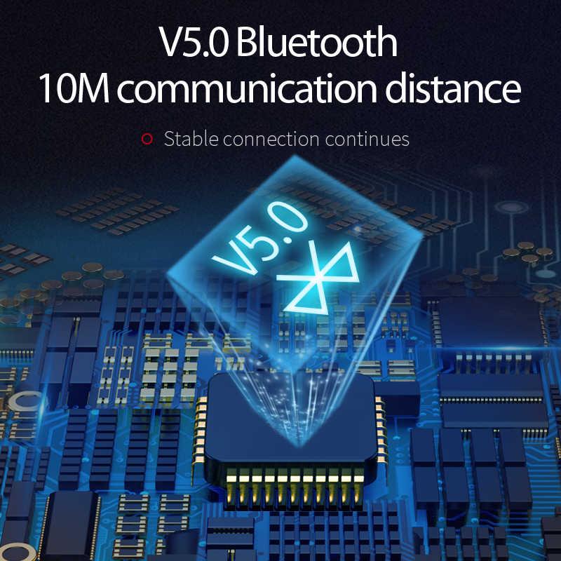 TWS, Auriculares Bluetooth 5,0, auriculares inalámbricos Wei T15, Auriculares deportivos con Control táctil para teléfono iPhone 7 x Xiaomi Huawei