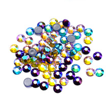 Top Quality Rose AB Hotfix Rhinestones Super Bright Glass Strass Iron On Crystal Hot fix Rhinestone For Fabric Garment shoes aaaaa quality flatback crystal color hot fix rhinestones glass strass hotfix iron on rhinestones for fabric garment