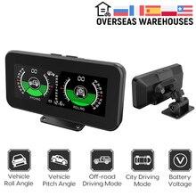 Mr Cartool M50 Gps Helling Meter Auto Inclinometer Tilt Pitch Hoek Roll Hoek Gradenboog Hud Smart Digitale Head Up Display