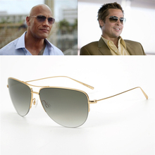 Super light 12g Strummer Sunglasses Pure Titanium Frame with Gradient lens