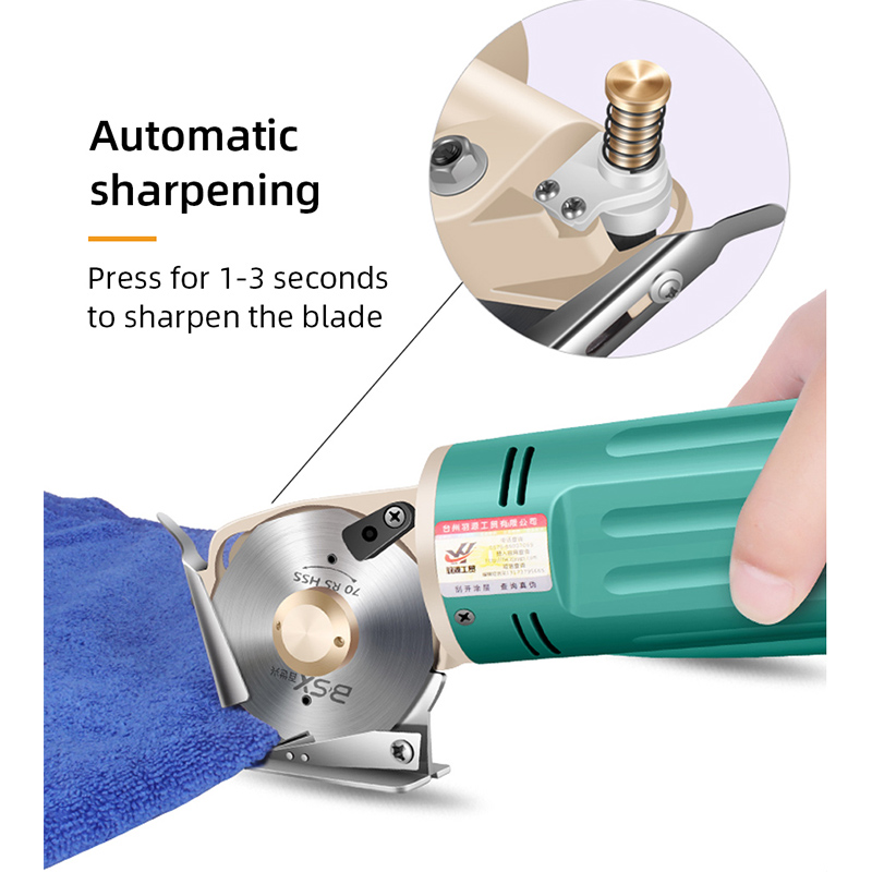 Electric Cloth Knife  220V/110V 170W Fabric Cutting Tools Leather Cloth Electric Cutter Machine Blade Power Tools Cutting Saws Pakistan
