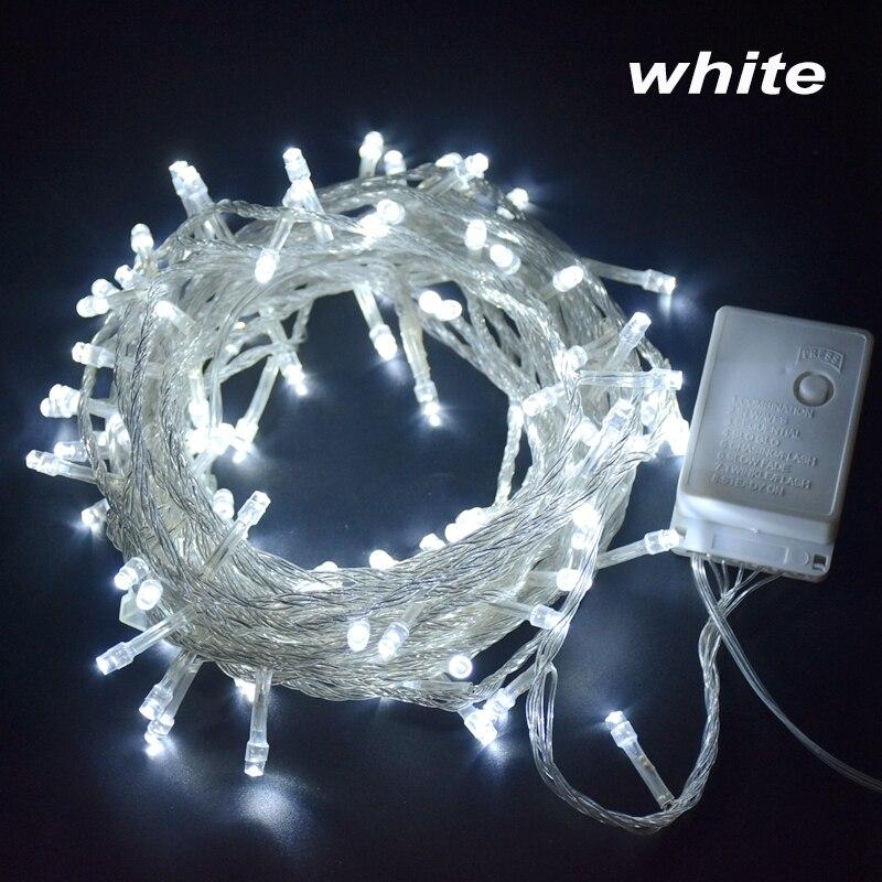 Уличная светильник ственская гирлянда, 220 В, 10 м, 20 м, 30 м, 50 м, 100 м, водонепроницаемая светодиодная сказосветильник гирлянда, праздничное освещение для свадьбы, вечеринки, Рождества Светодиодная лента      АлиЭкспресс