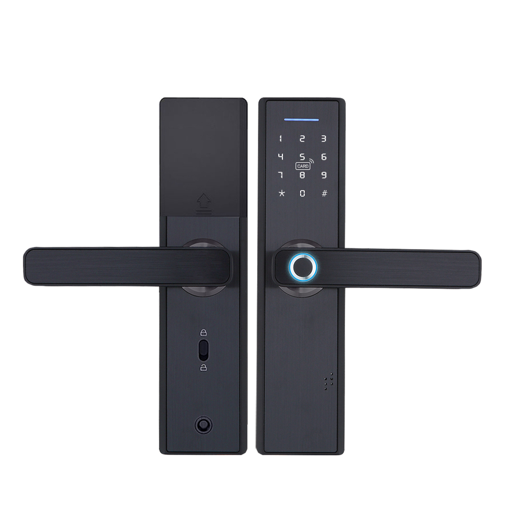 YRHAND Biometric Smart Fingerprint Lock Pad for Intelligent Security With WiFi and Password Protected 14