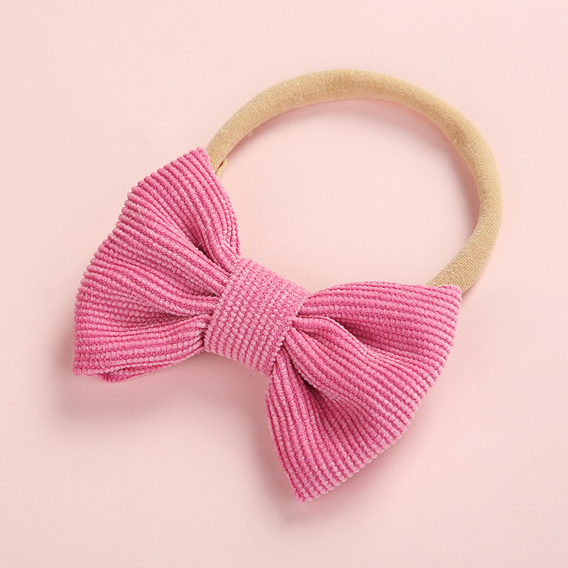 New 1pcs Baby Girls Headband Set Bow Knot Head Bandage Kids Toddlers Headwear Flower Hair Band Infant Clothing Accessories