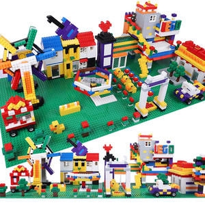 Image 3 - 50*50 Dots Quality BasePlate Compatible All Major Brand Building Blocks DIY Base Plate 40*40cm Educatioinal Bricks Toys for Kids