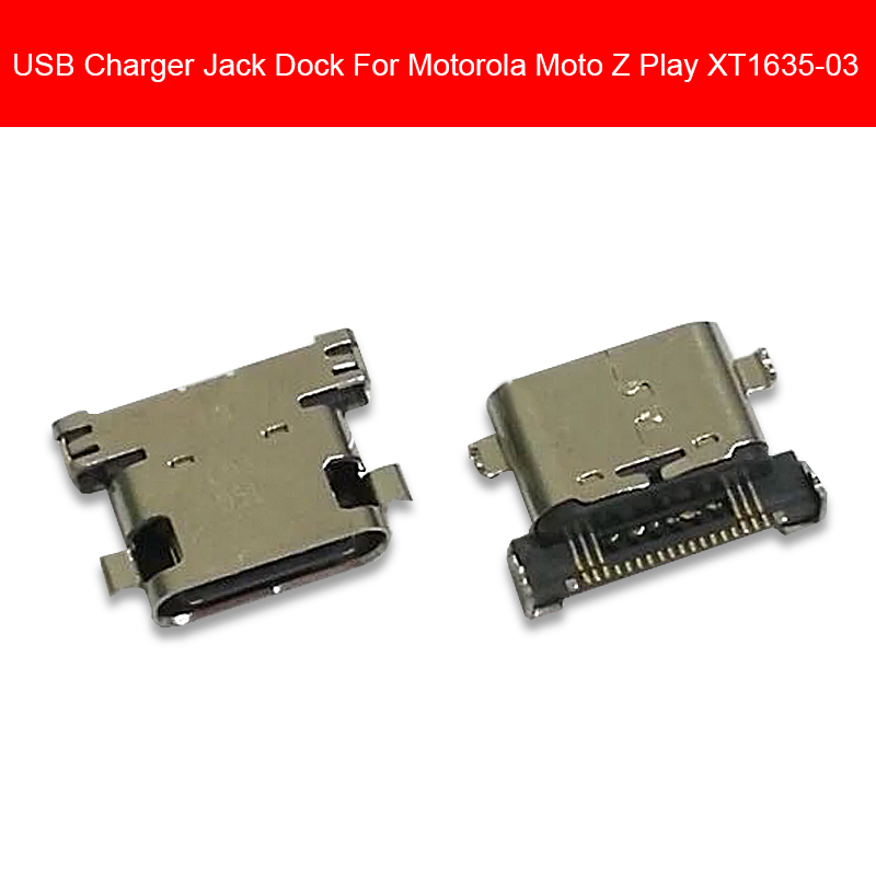 Date Charging Dock Port For Motorola Moto Z Play Droid XT1635-03 USB Charger Socket Jack Connector Port Repair Replacement