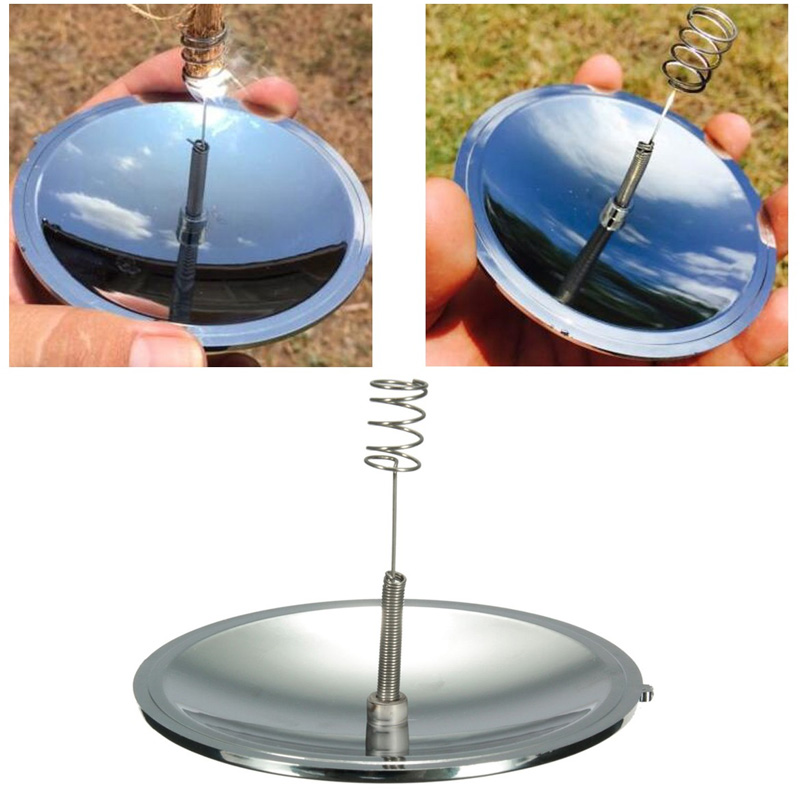 Camping Solar Igniter Firearms Fire Starter Emergency Survival Tool Gear Useful Outdoor Tools
