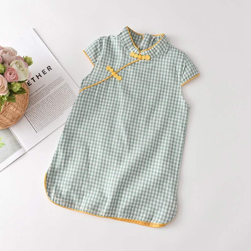 Bear Leader Girls Casual Dresses 2021 New Fashion Kids Chinese Style Clothes Baby Girl Party Outfits Flowers Clothing 2 8 Years 2