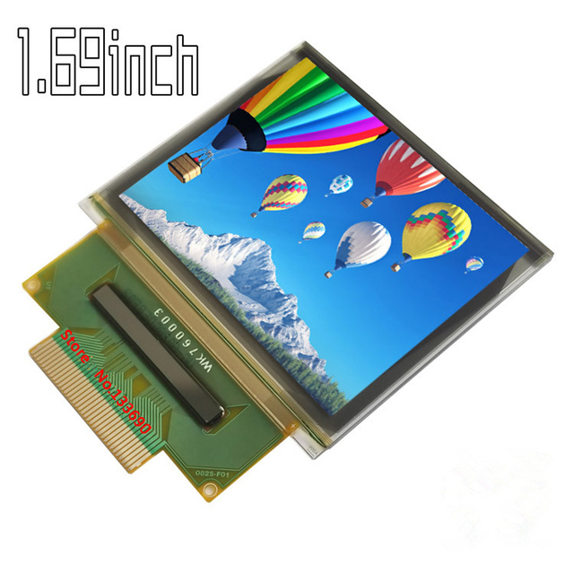 1.69 1.69 inch UG 6028GDEBF 35PIN Full Color SPI OLED Screen SEPS525 Drive IC 160(RGB)*128 serial port 160*128 display