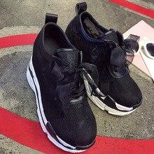 Women Platform Chunky Sneakers 10cm High