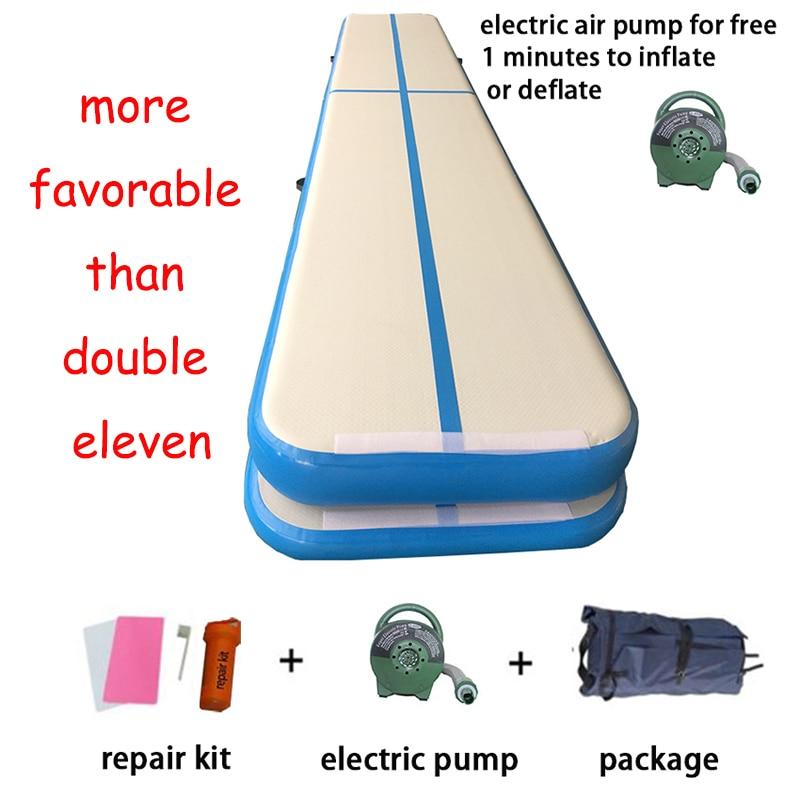 3mx1mx10cm Fitness Equipment Sport Yoga Mat Gymnastics Professional Airtrack Tumbling Mat Air Track Gym Accessories Home Use