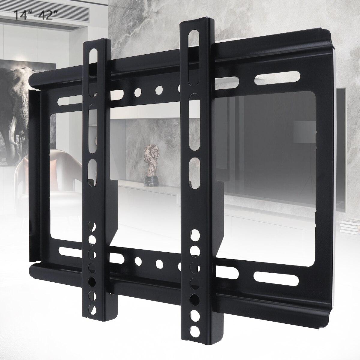 Suporte de Parede Quadro de tv Giratória para 14-42 Universal Fino Girado Inclinação Polegada Lcd Led Monitor 20 kg tv