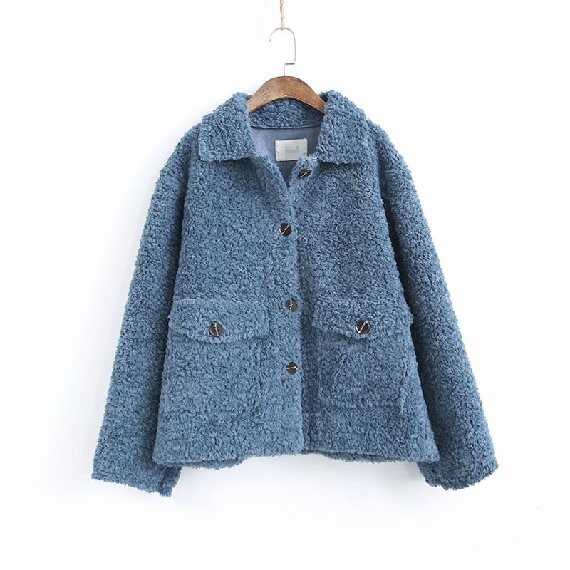 Koreaanse Dikke Lam Wol Jassen Vrouw Kleding Vintage Plus Size Winter Jas Vrouwelijke Warme Jas Vrouwen Jassen Tops Ll006 - 3