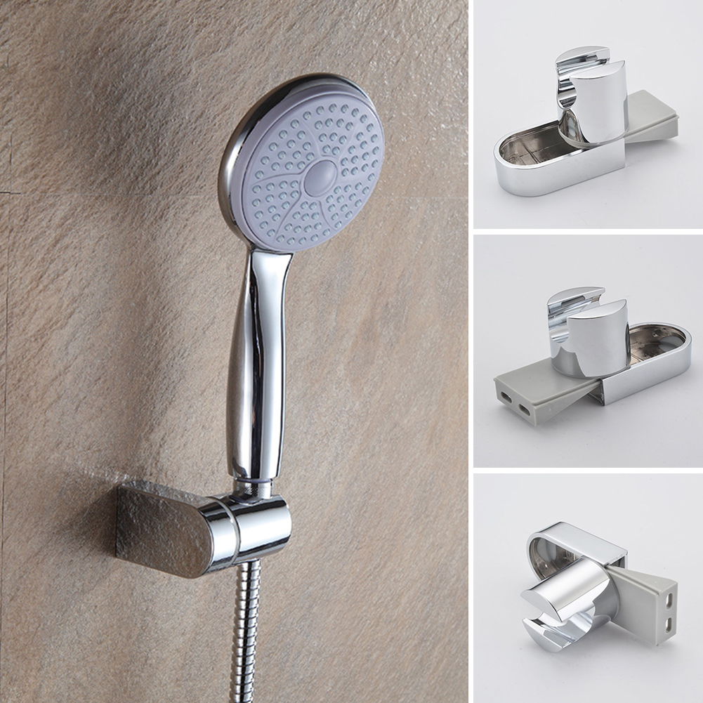 Practical Aluminum Shower Head Holder Bathroom Wall Mount Sprayer Bracket US