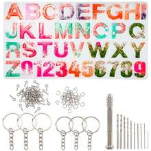 Наборы ювелирных изделий diy с силиконовыми формами для УФ смолы