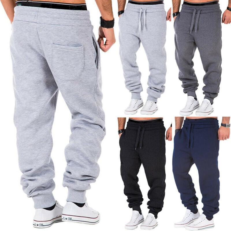Новинка 2020, мужские свободные брюки, спортивные тренировочные строгие джоггеры, спортивные брюки с завязками, мужские облегающие брюки