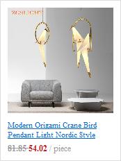 Pós moderna nordic led lustre de teto