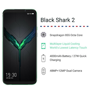 "Image 2 - Original Global Version Xiaomi Black Shark 2 12GB 256GB Gaming Phone Snapdragon 855 Octa Core 6.39"" AMOLED FHD+ Screen 48MP"