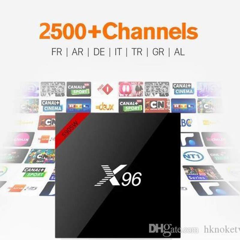 HKNOKE TV X96 TV Box H.265 однолетние каналы Full HD голландский Бельгия французский Великобритания Германия Арабская Европа для Android TV Box ТВ-приставки и медиаплееры      АлиЭкспресс