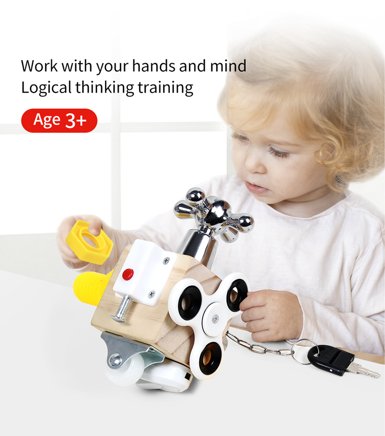 Hands-on Ability Training Lock Box Best Toys For Babies Best Children's Lighting & Home Decor Online Store