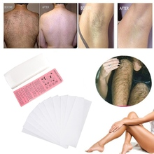 100Pcs/pack Hair Removal Waxing Paper Strips Non-woven Fabric Epilator Wax Papers Leg Body Hair Remove Beauty Tool For Wax