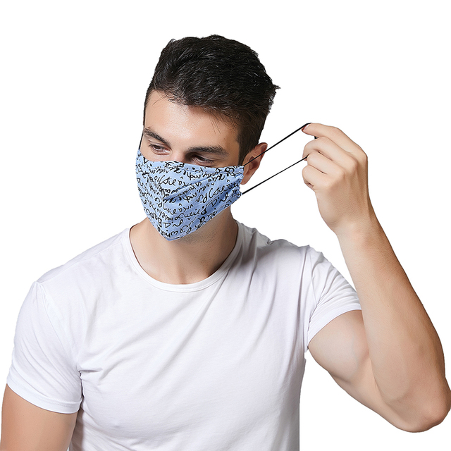 PM 2.5 Women Cotton Mouth Mask Anti Dust Mask Activated Carbon Filter Windproof Mouth-muffle bacteria proof Flu Face masks Care 3