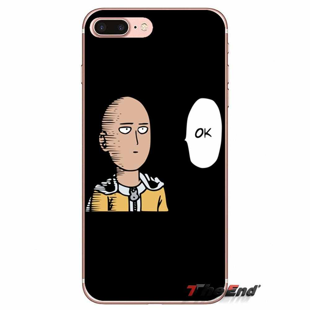 Anime Bleach One Punch Man Mềm TPU Cho Samsung Galaxy J1 J2 J3 J5 J7 A3 A5 A7 2015 2016 2017 J530 J730 Fundas Coque