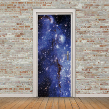 цена на 3D creative Starry sky door stickers wall stickers self-adhesive waterproof removable