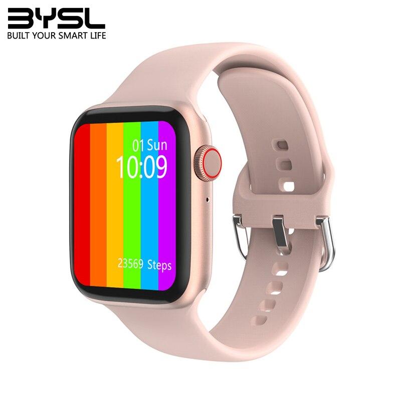 Смарт-часы IWO W26, 44/40 мм, серия 2020, 6, женские Смарт-часы, Bluetooth, звонки, ЭКГ, пульсометр, температура PK IWO 12 13 W26 Pro W56
