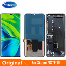 Original AMOLED For Xiaomi Mi Note 10 M1910F4G LCD Display Screen Touch Digitizer Panel Assembly