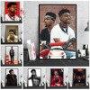 NT956 Rap gwiazda muzyki 21 Savage Hip Hop jestem jestem Issa plakat obraz olejny drukuj ściany płótno artystyczne obraz salon wystrój pokoju
