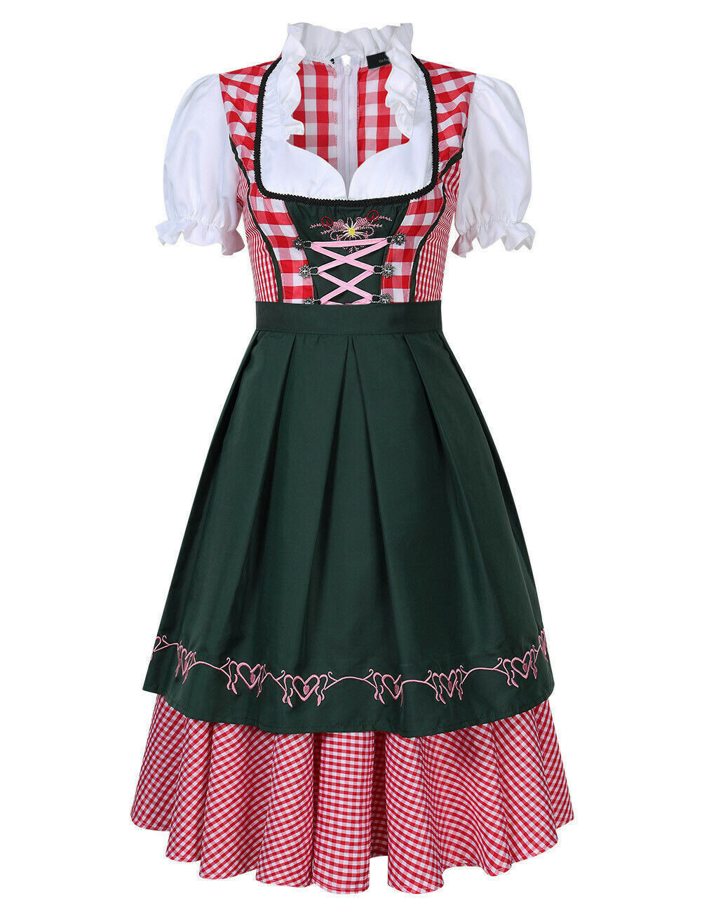 Oktoberfest Costume German Bavarian Traditional Dirndl Beer Maid Costumes