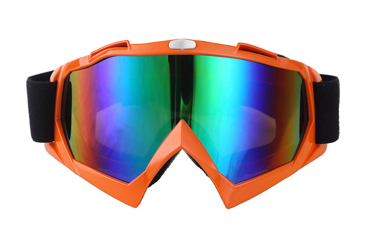 Spherical Ski Goggles Double Layer Anti-fog Windproof Ski Goggles Snowfield Mountain Climbing Eye-protection Goggles Men And Wom