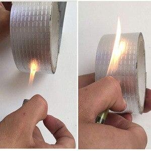 Image 5 - (Buy 1 get 1 Nano tape) Aluminum Foil Butyl Rubber Tape Self Adhesive High Temperature Resistance Waterproof  Stop Leak Sticker