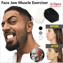 Jawline Jawzrsize – boule de mâchoire pour l'exercice musculaire, 1/2 pièces