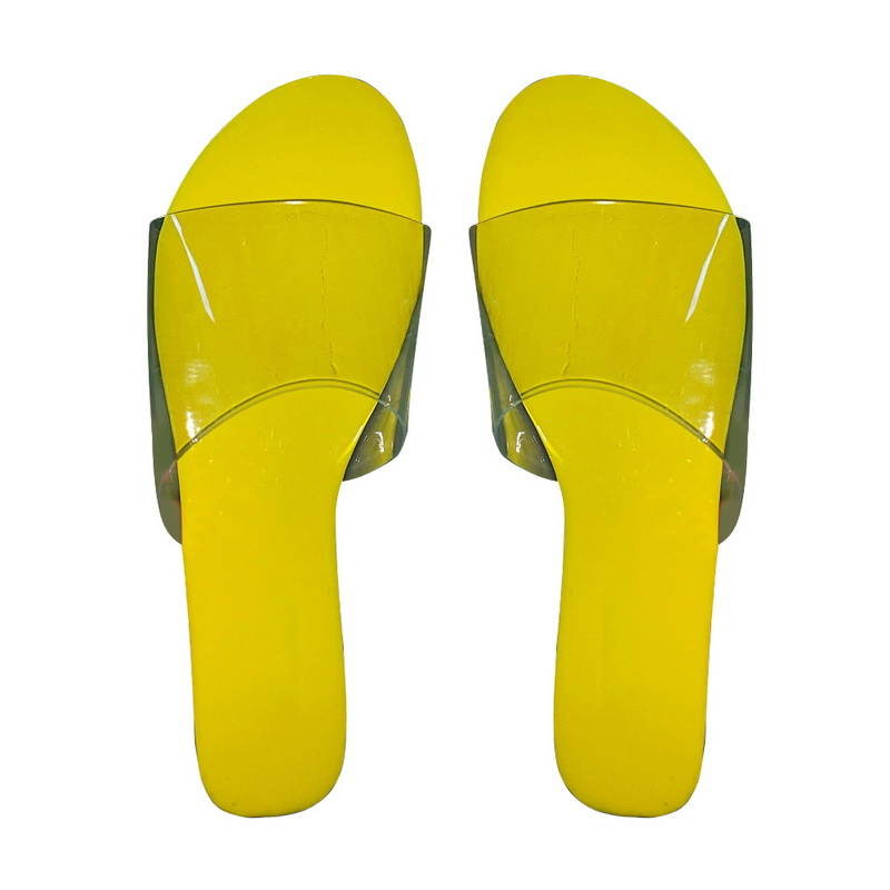 H8180383af47c4660914bed5a7b98ab16t - Fashion Women Slippers Slides Clear Transparent Jelly Shoes Outdoors Female Sexy Summer Beach Shoes 2020 Female Footwear