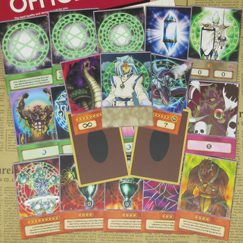 20pcs Yu-Gi-Oh! Orichalcos Series Cards Greek Atlantis Ancient Symbol Dartz Cosplay Item Yugioh Anime Special Design Orica Card