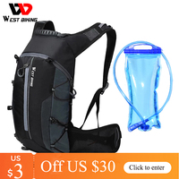 West Biking-ポータブル自転車バッグ,防水,10l,サイクリング,アウトドアスポーツ,クライミング用