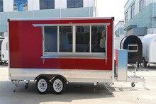 Red Food Trucks  Mobile Foodtruck mobile white new zealand food trailer australia food van germany foodtruck