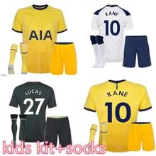 new kids kit third Home away 20 21 TottenhamES shirt BERGWIJN HOJBJERG SON KANE DELE BALE LUCAS LAMELA Top Quality child Shirt