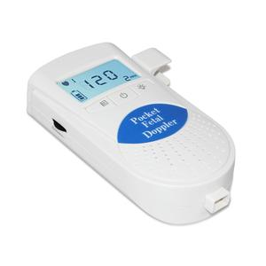 Image 2 - جهاز مراقبة دوبلر الجنين محمول جهاز مراقبة نبضات قلب الطفل للاستخدام المنزلي جهاز كشف الموجات فوق الصوتية للجنين قبل الولادة صوت الطفل