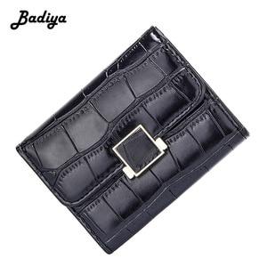 RFID Women Wallet Stone Pattern 2019 New Fashion Luxury Brand Design Coin Purse Multi Slots Credit Card Holder Ladies Clutch Bag