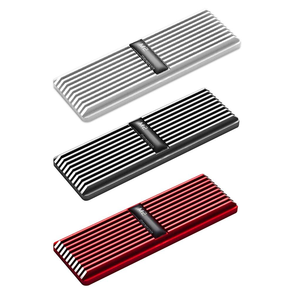 Радиатор для SSD-накопителя M2, радиатор для рассеивания тепла M.2, Охлаждающий радиатор, тепловые прокладки, наклейка, охлаждающий жилет для NVMe...