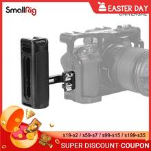 SmallRig DSLR Camera Hand Grip Aluminum Universal Side Handle W/ Mounting holes & cold shoe fr Microphone DIY Options 2425