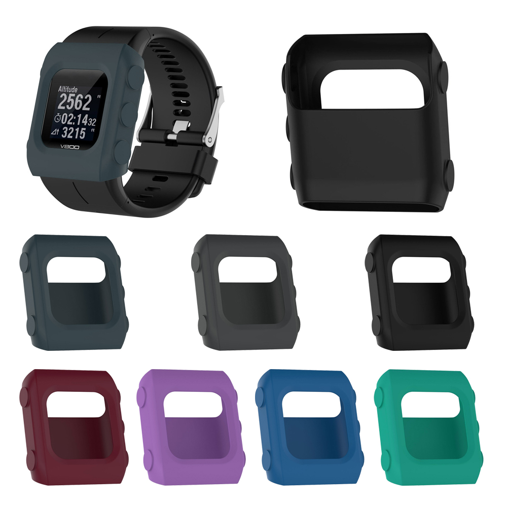 Silicone Protector For Polar V800 Case Watch Protection Slim Cover For Polar V800 Shockproof Shell Protective Skin Case Frame