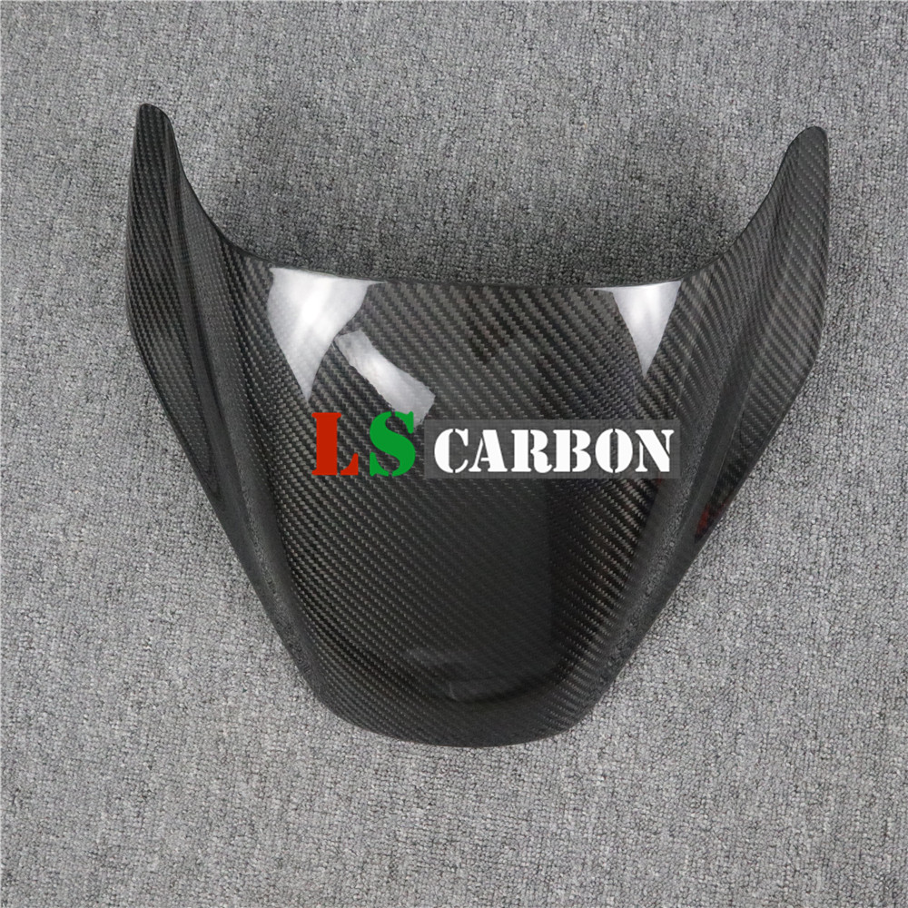 Motorcycle Seat Cowl Cover For Ducati Monster 600 620ie 750 750ie 900ie S Dark 2000-2007 Full Carbon Fiber