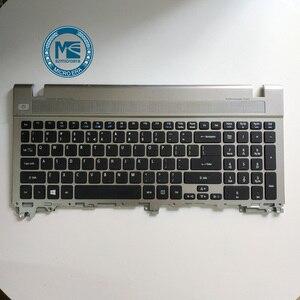 Image 2 - laptop keyboard upper Case palmrest upper cover for Acer V3 551 V3 571 551G 571G second hand